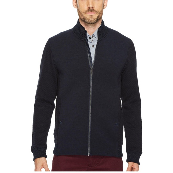 46f201ba7905 TED BAKER Webstar Quilted neoprene bomber jacket